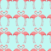 Flamingo pattern — Stock Vector