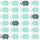 Seamless elephant pattern — Stock Vector