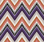 Zigzag pattern — Stock Vector