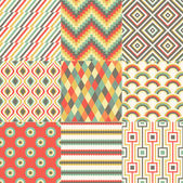 Repeated abstract geometric pattern design — Vecteur