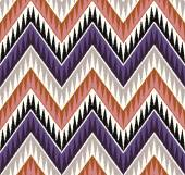Zigzag textile pattern — Stock Vector