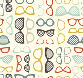 Sunglasses pattern — Stock Vector