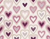 Dikişsiz kalp desen — Stok Vektör