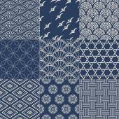Japanese mesh pattern — Stockvektor
