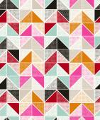 Seamless dots geometric pattern — Stock Vector