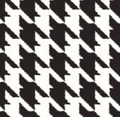 Seamless houndstooth checkered pattern — Stock Vector
