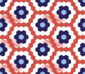 Kesintisiz geometrik desen — Stok Vektör
