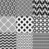 Set of elegant patterns — Stock Vector