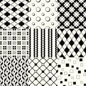 Set of elegant patterns — Stock Vector