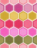 Hexagonal background pattern — Stock Vector