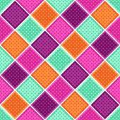 Rhombus geometric background — Stock Vector