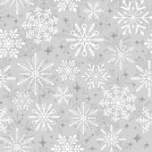 Christmas snowflakes pattern — Stock Vector