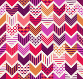 Colorful chevron arows pattern — Stock Vector