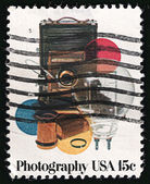 Photography, USA post stamp 1978 — Стоковое фото