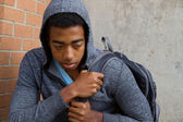Troubled teenager at school — Photo