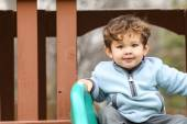 Little boy at the park — Stock Photo