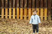 Cute Little Boy — Stock Photo