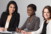 Diverse group of businesswomen — Stock Photo