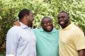 African American Brothers — Stock Photo