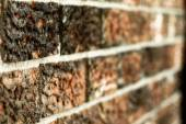 Brick Building — Stock Photo