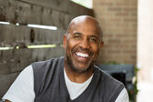 Mature African American man — Stock Photo