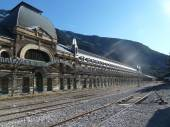 Station Canfranc — Stock Photo