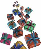 Gift boxes — Stock Photo