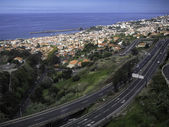 A view of Funchal Madeira — Stock Photo