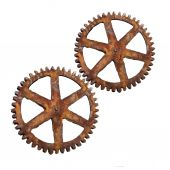 Old rusty wheels  — Fotografia Stock