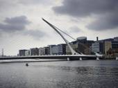 Samuel Beckett Bridge Dublin — Stock Photo