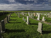 Picturesque cemetery on the island of Islay — Stock Photo