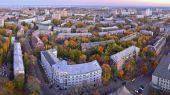 Staden panorama — Stockfoto