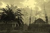 Istanbul theme collage — Stock Photo