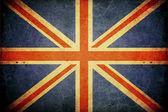 Grunge great britain flag — Stock Photo
