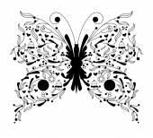 Buterfly vector illustration — 图库矢量图片