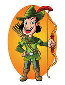 Robin Hood — Stock Vector