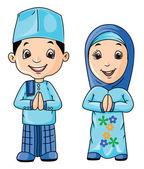 Muslim Day — Stock Vector