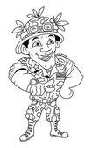 Army Vector Illustration — 图库矢量图片