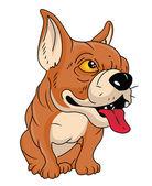 Boğa köpek — Stok Vektör
