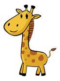 Giraff cartoon — Stockvektor