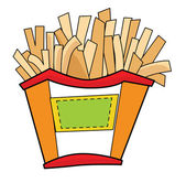 French Fries — Stock Vector
