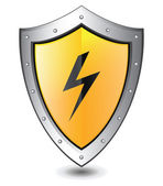 High voltage icon — Stock Vector