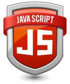 Red shield java script — Vector de stock