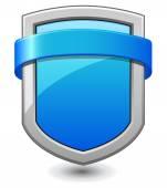 Blue Shield — Stock Vector