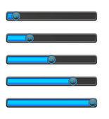 Blue loading bar — Stock Vector