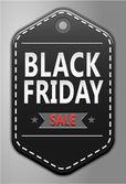 Black friday sale badge — Stock Vector