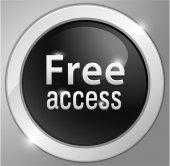 Free access Button, sign — Stock Vector