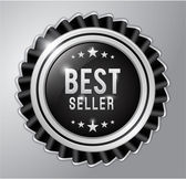 Beste verkoper badge lint — Stockvector