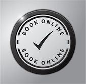 Book online — Stock Vector