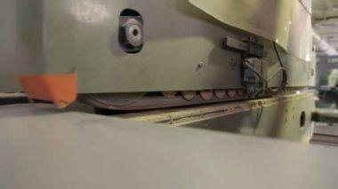 Woodworking mashine — Stock Video